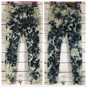 BDG Urban Outfitters Tie Dye Twig Ankle Jeans 26